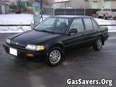 1989 Civic with d15z1 and CRX HF transmission - Utah - Honda