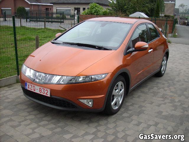 Gas mileage of 2008 honda civic fuel autos post for Honda civic fuel economy